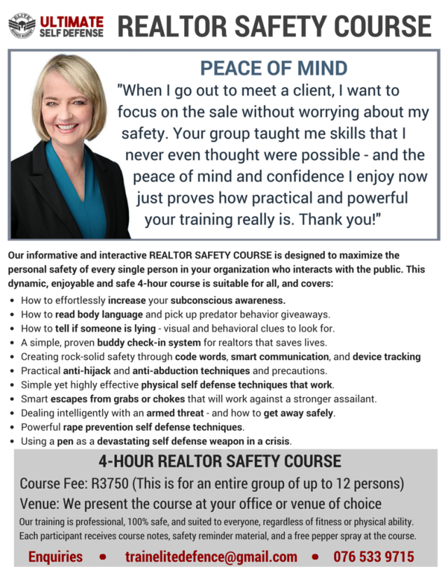 REALTOR SAFETY COURSE cropped