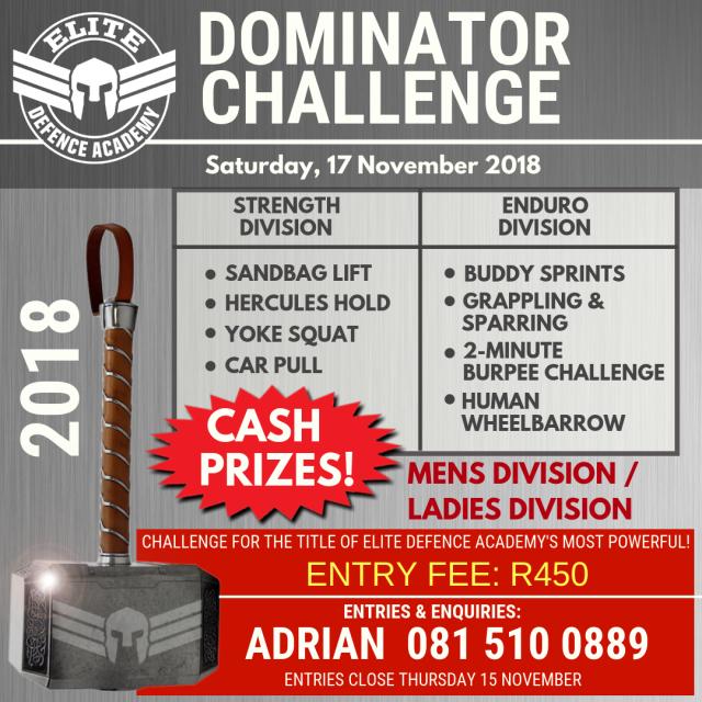 Dominator poster