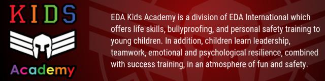 EDA Kids Academy strip