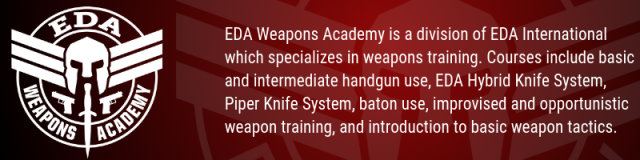 EDA Weapons Academy strip
