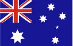 Flag panel Aus